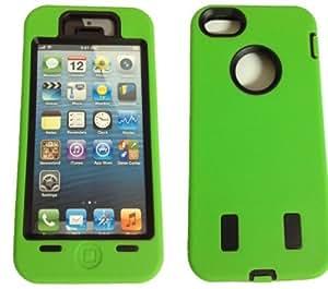 Rightway Shop Nueva funda elegante antichoque de goma de Apple iPhone 5 - verde