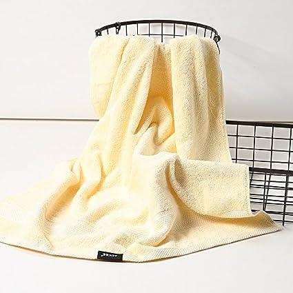 Una pareja de adultos grandes de algodón suave toalla gruesa niños aumentó las toallas para absorber