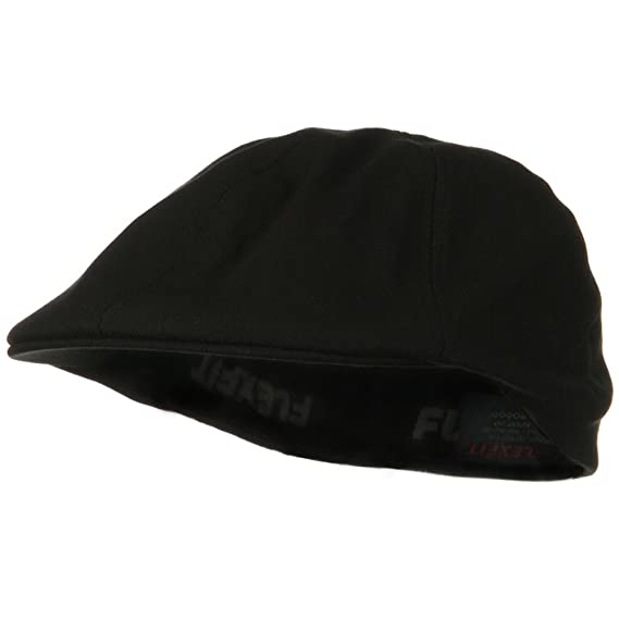 41e3babf71ab1 Flexfit Driver Herringbone Ivy Cap - Black  Amazon.in  Clothing    Accessories