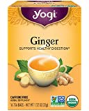 Yogi Tea, Ginger, 16 Count (Pack of 6)