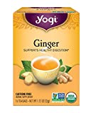 Yogi Teas Ginger, 16 Count (Pack of 6), Packaging May Vary