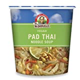 Dr. McDougall's Right Foods Vegan Pad Thai Noodle Soup, Fresh Flavor, 2-Ounce Cups (Pack of 6)