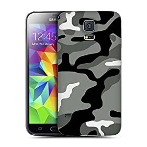 Head Case Designs Night Shift Military Camo Replacement Battery Back Cover for Samsung Galaxy S5
