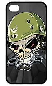Iphone 4/4s Slim Fit Back Case Five Finger Death Punch - Warhead Poster Apple Iphone TPU Case