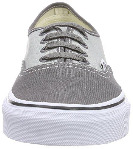 Vans U AUTHENTIC 2-TONE - zapatilla deportiva de lona Unisex adulto gris - Grau ((2-Tone) pewter/high-rise)