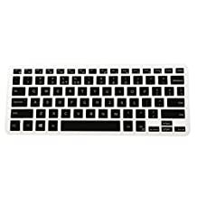 MagiDeal Arabic/ English Silicone Keyboard Skin Cover for Dell XPS13 9350/9360 - Black