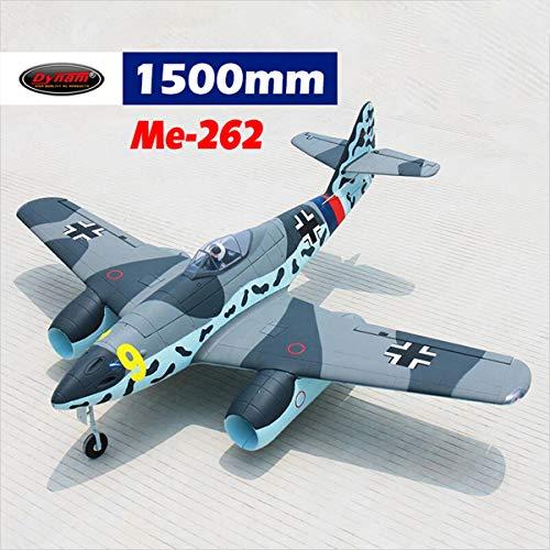 DYNAM RC Airplane Me 262 Twin 70mm EDF Jet – SRTF | RC Hobby