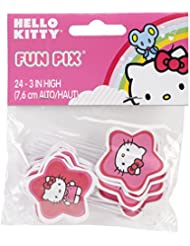 Wilton Hello Kitty Paper Fun Picks, Set of 24, Color May Very.