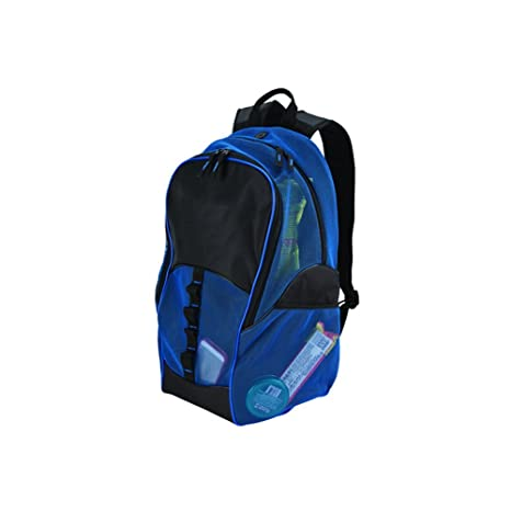 e1ce29a14fe0 GOODHOPE Bags Travelwell Mesh Tablet Computer Backpack, Blue