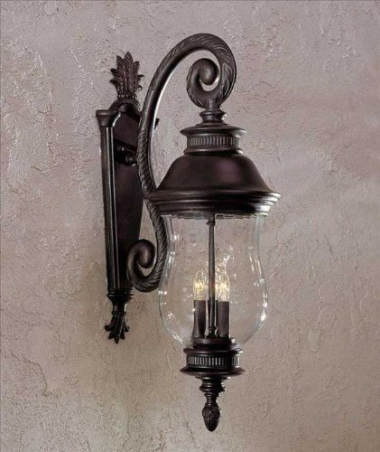 - Minka Lavery Minka 8902-94 European Influence Three Light Wall Mount from Newport collection in Bronze/Darkfinish 3 Outdoor, Upc-747396620169