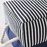 TcaFmac Fabric Nautical Basket for