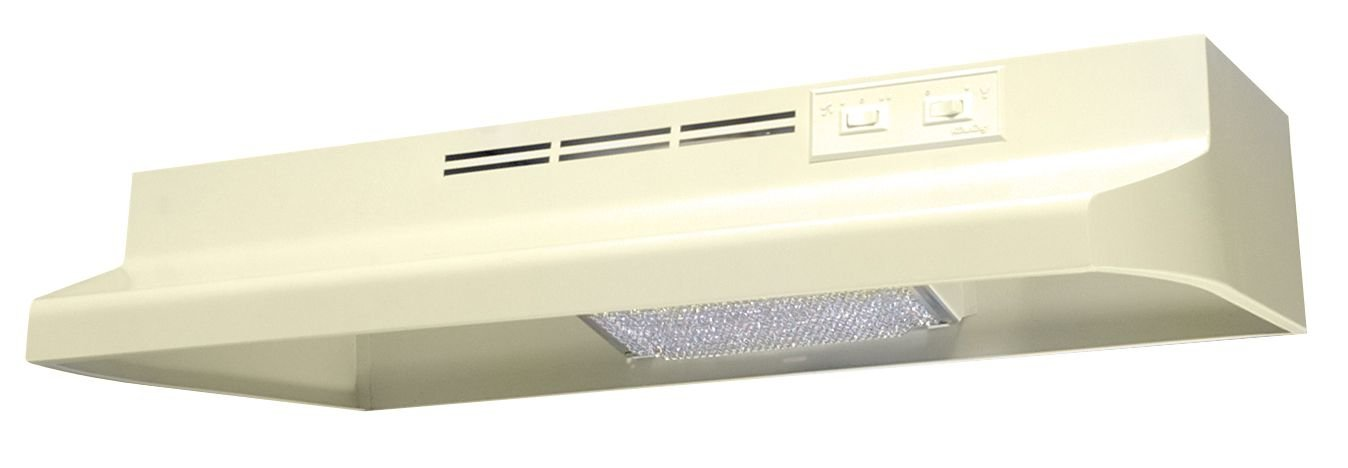 Air King AD1305 Advantage Ductless Under Cabinet Range Hood with 2-Speed Blower, 30-Inch Wide, Almond Finish
