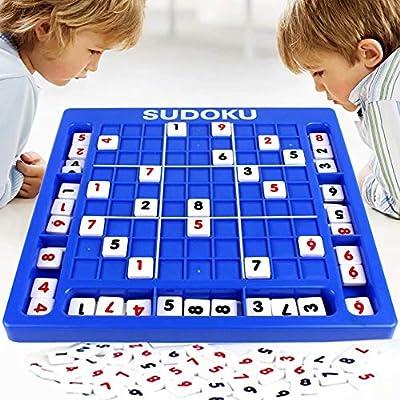 AA-SS Sudoku Toys Juego de Rompecabezas Juegos de Mesa Juego de ajedrez Jiugongge Juego de Rompecabezas Entre Padres e Hijos Entrenamiento de Pensamiento lógico Intelectual: Amazon.es: Hogar