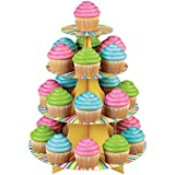 wilton cupcake stands - Wilton 1512-0726 Treat Stand Color Wheel Cupcake Stand