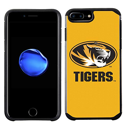 - Prime Brands Group Textured Team Color Cell Phone Case for Apple iPhone 8 Plus/7 Plus/6S Plus/6 Plus - NCAA Licensed University of Missouri Tigers