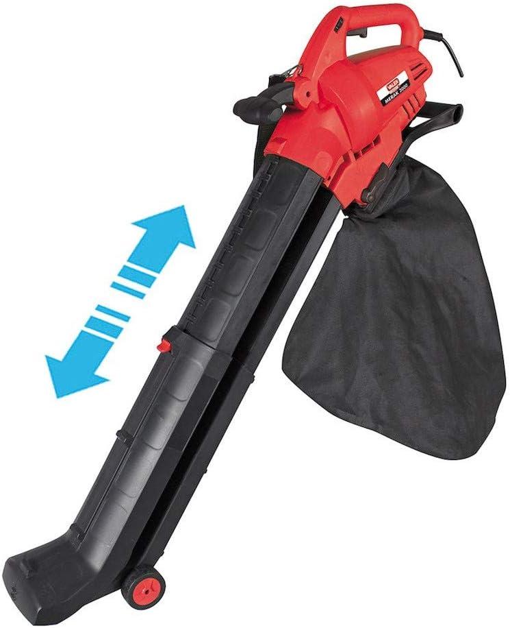 Valex - Aspirador soplador eléctrico MERAK 3000, Rojo: Amazon.es: Jardín