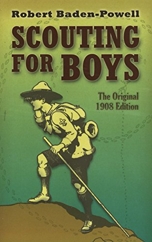 "Image result for Robert Baden-Powell's 1908 edition of ""Scouting for Boys,"""