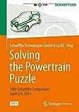 Solving the Powertrain Puzzle : 10th Schaeffler Symposium April 3/4 2014, , 3658061944
