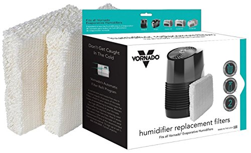 (Vornado MD1-0002 Replacement Humidifier Wick Filters, 2-pk)