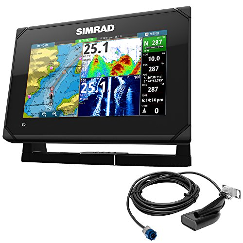 Simrad Go7 Xse Chartplotter With Med/High/Downscan T/M 000-12672-001  by Simrad