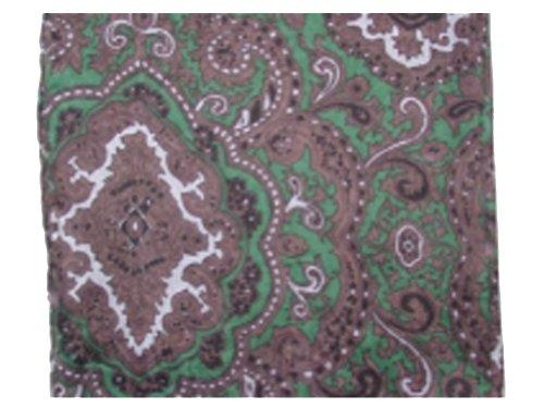 Paisley Silk Scarf 34.5