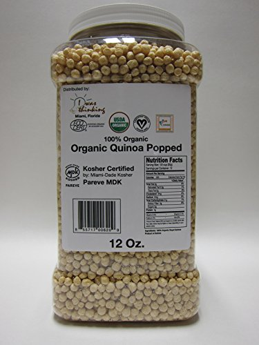 Organic Royal Quinoa (extruded, Puffed or popped)