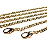 Kroo Purse Chain Strap Replacement for Cross Body Bag Shoulder Handbags Clutch 46 inches