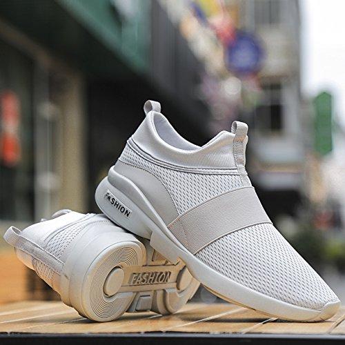 Chaussures de course pour hommes Slip on Poids léger Chaussures décontractées Chaussures de sport f8zpgNu