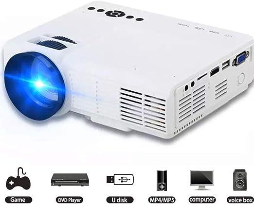 Mini proyectores Proyector para el hogar 1000 lúmenes LED Micro ...