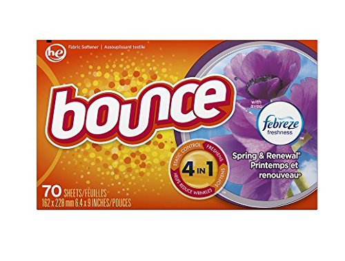 Freshens! Bounce Fabric Softener Dryer Sheets with Febreze Spring & Renewal70.0 ea(3pk)