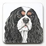 Cavalier King Charles Coaster- CST169 - Made in UK, from original Watercolor painting by CambridgeStyle