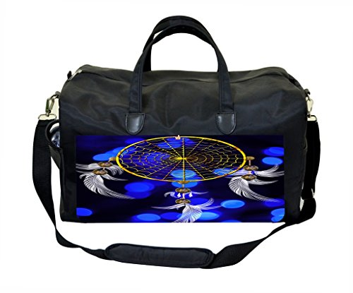 Dreamcatcher PU Leather and Suede Weekender Bag