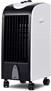 "Toolsempire Air Conditioner Cooler with Fan & Humidifier Portable Evaporative Quiet Electric Fan with Filter Knob Control (24"" H)"