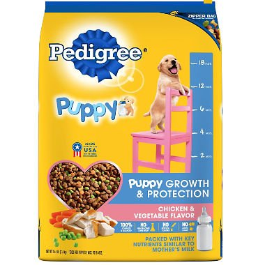 (PEDIGREE Complete Nutrition Puppy Dry Dog Food (Chicken, 3.5 lbs. (Pack of 3)))