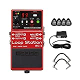 Boss RC-3 Loop Station Compact Phrase Recorder Pedal with Rhythm Guide, 99 Onboard