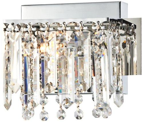 Wide Strand - Possini Euro Hanging Crystal 7 3/4