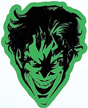 DC Comic Joker Green Head New Gifts s-dc-0179 Sticker