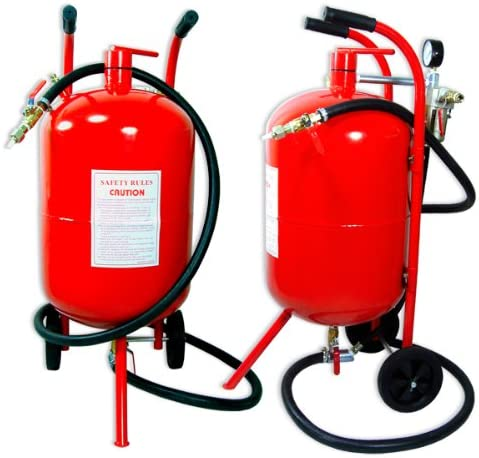 10 Gallon Air Sand Blaster With Ceramic Tips