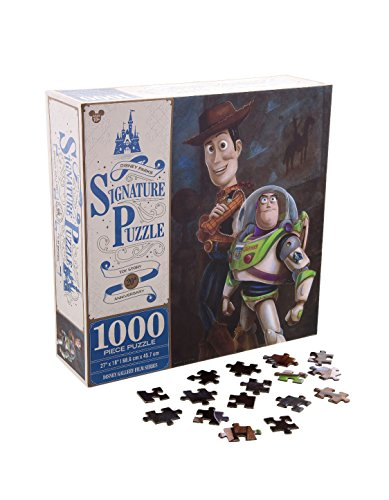 Lightyear Buzz Puzzle (Disney Parks Toy Story 20th Anniversary Woody Buzz Lightyear 1000 Piece 27