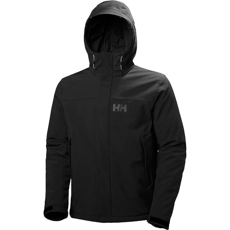 ヘリーハンセン アウター ジャケットブルゾン Helly Hansen Men's Forseti Insulated Sof Black 2d8 [並行輸入品] B0761R6V21  Large
