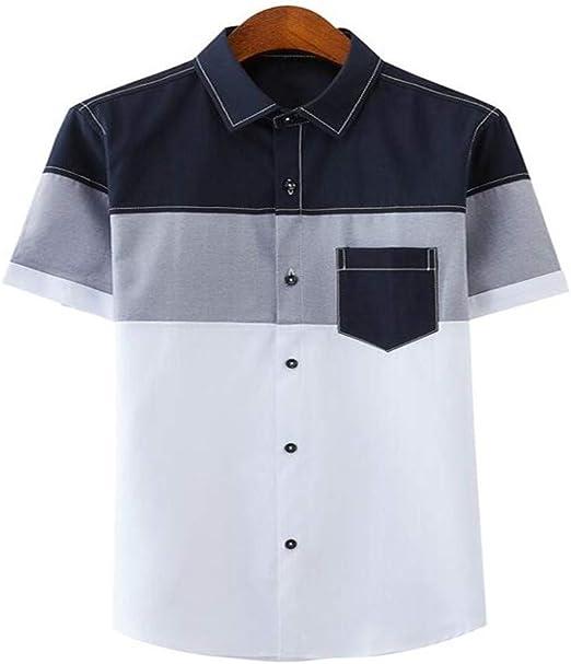 NSSY Camisa de Hombre Hombres, Camisas de Vestir de Verano ...