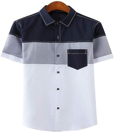 NSSY Camisa de Hombre Hombres, Camisas de Vestir de Verano, Camisas de Manga Corta, Hombres Outwear, Camisas Delgadas, XL: Amazon.es: Hogar