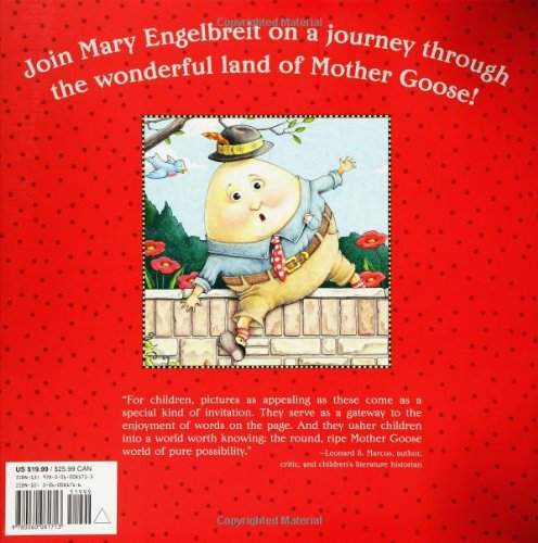 Mary Engelbreit's Mother Goose: One Hundred Best-Loved Verses by Harper Collins (Image #1)