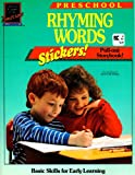 Rhyming Words (Learn Today for Tomorrow Preschool Workbook)