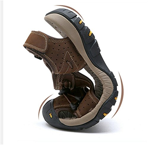 kick Outdoor anti The scarpe Outdoor Shoes spiaggia scarpe spiaggia marrone molle inferiore sportive scuro; Baotou XXM 43 traspirante Hit trekking scarpe acqua sandali da scarpe fvPwW