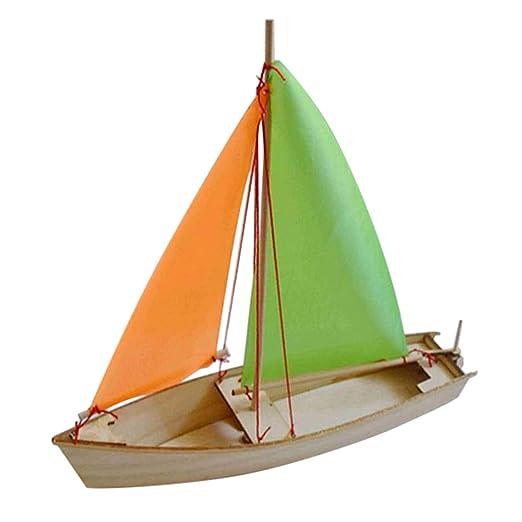 Homyl 3d Holz Segelboot Segelschiff Boot Schiff Diy Modellbausatz
