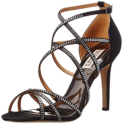 Badgley Mischka Meghan vestido sandalias de la mujer Blk