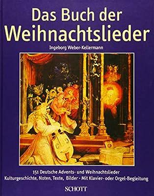 Top Weihnachtslieder 2019.Das Buch Der Weihnachtslieder German Text Hilger Schallehn Amazon