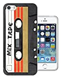 1082 - Cool Fun Mix Tape Cassette Player Retro Music Dance Hip Hop RnB Boom Box Design iphone 5 5S Fashion Trend CASE Gel Rubber Silicone All Edges Protection Case Cover