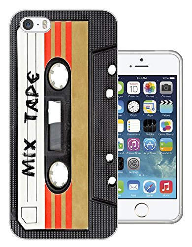 1082 - Cool Fun Mix Tape Cassette Player Retro Music Dance Hip Hop RnB Boom Box Design iphone 5 5S Fashion Trend Silikon Hülle Schutzhülle Schutzcase Gel Rubber Silicone Hülle